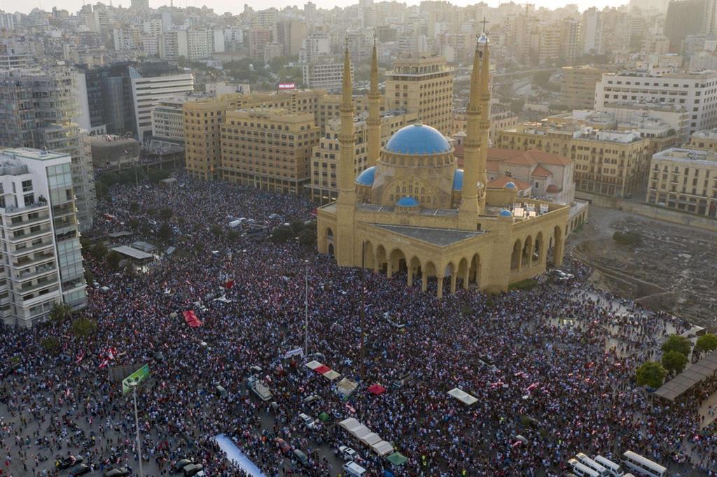 Rivolta in Libano